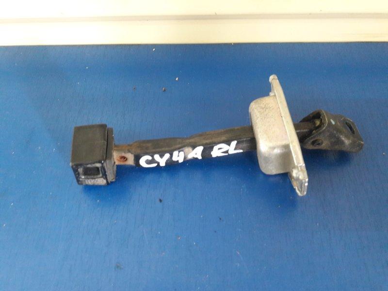 Ограничитель двери Mitsubishi Lancer X CY2A задний (б/у)