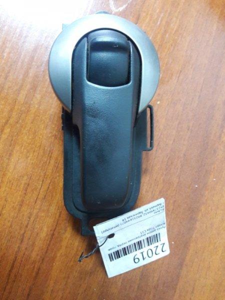 Ручка двери внутренняя Nissan Tiida C11 передняя правая (б/у)