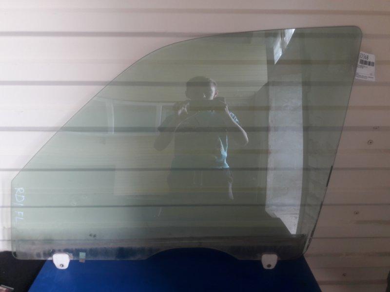 Стекло двери Honda Crv RD1 переднее левое (б/у)