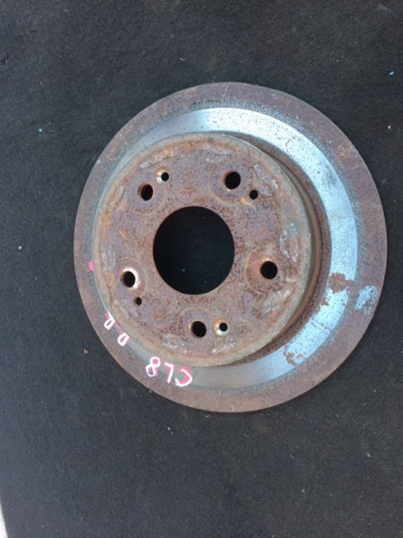 Тормозной диск Honda Accord CL8 задний (б/у)