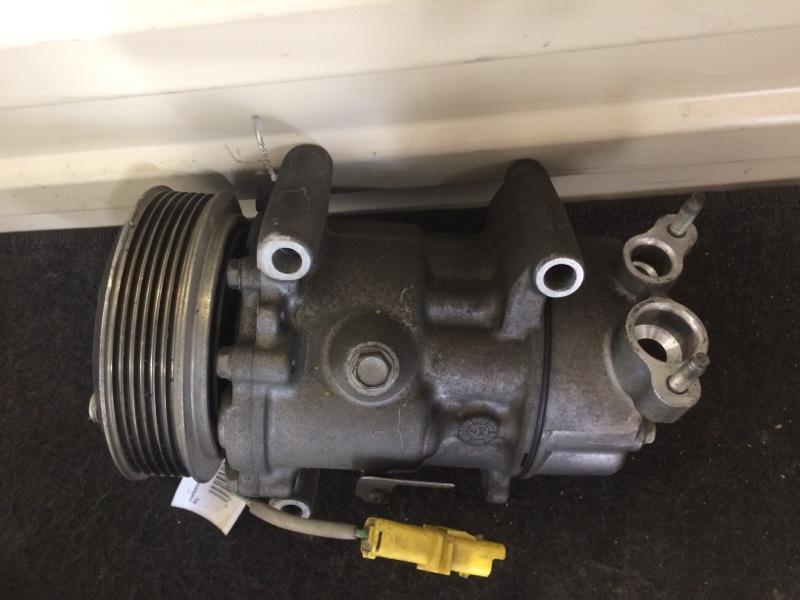компрессор кондиционера Peugeot 206 NFU б/у