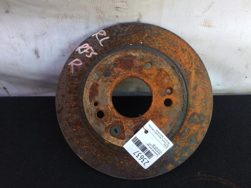 Тормозной диск Honda Stepwgn RF5 задний (б/у)