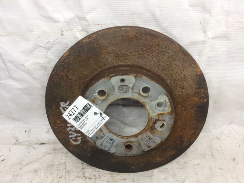 Тормозной диск Mazda Atenza GY3W передний (б/у)