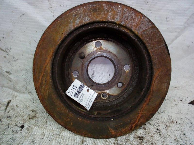 Тормозной диск Chevrolet Lacetti J200 задний (б/у)