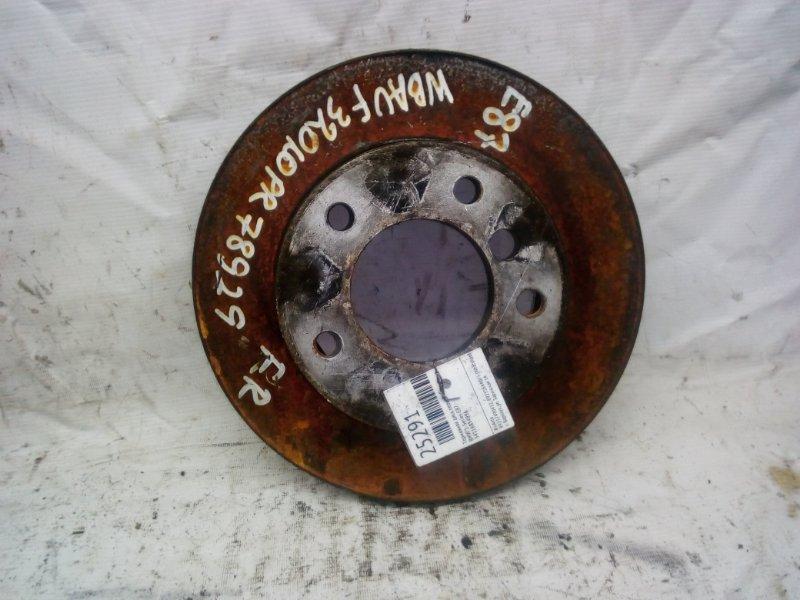 Тормозной диск Bmw 1-Series E87 передний (б/у)