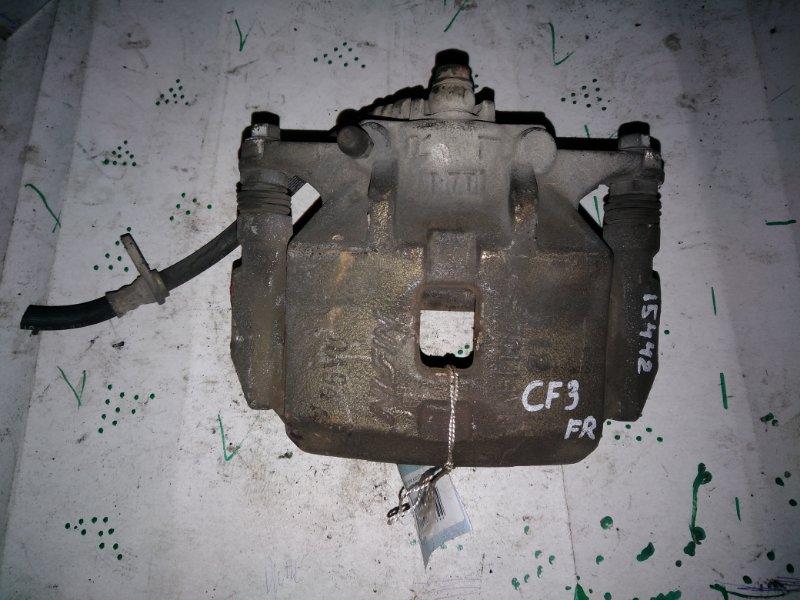 Суппорт Honda Accord CF3 передний правый (б/у)