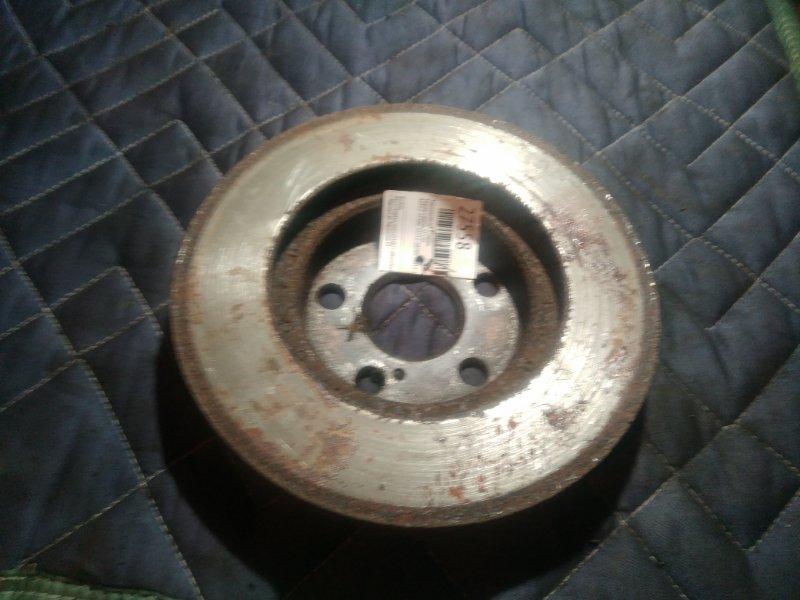 Тормозной диск Toyota Caldina ST210 передний (б/у)