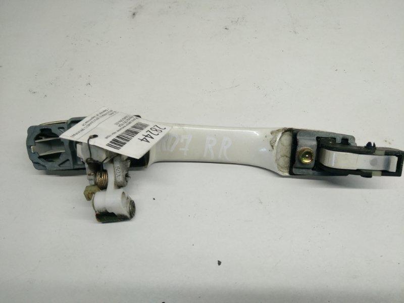 Ручка двери внешняя Honda Crv RD4 задняя правая (б/у)