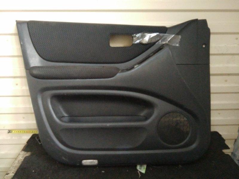 Обшивка двери Toyota Kluger ACU20 передняя левая (б/у)