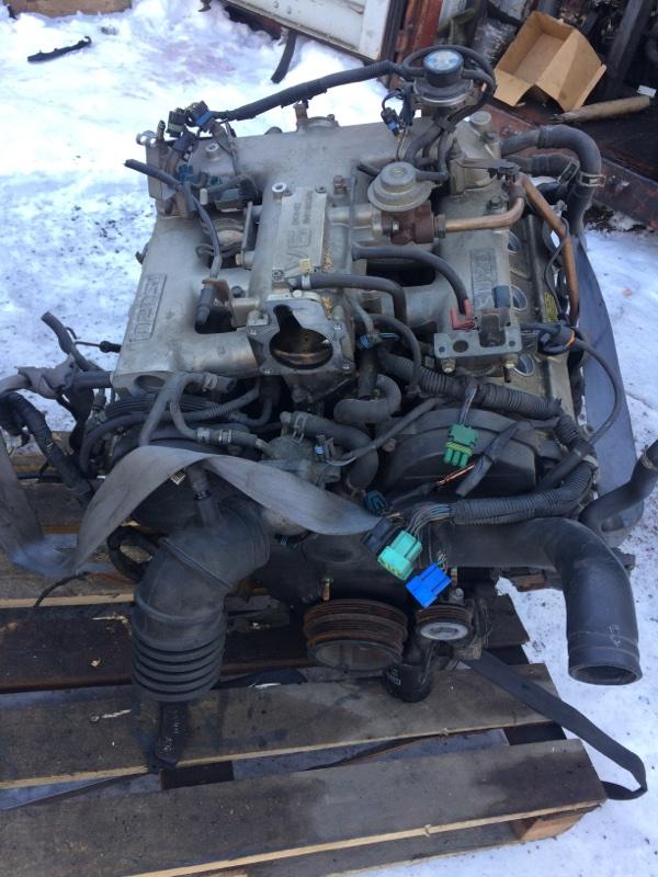 двигатель Isuzu Bighorn UBS25 6VD1 б/у