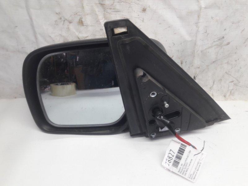 Зеркало Mitsubishi Pajero V93W 6G72 2006 левое (б/у)