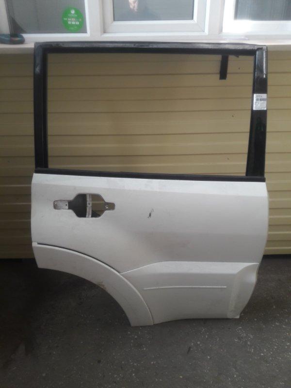 Дверь Mitsubishi Pajero V93W 6G72 2006 задняя правая (б/у)