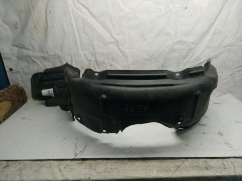 Защита крыла Toyota Corolla AE90 передняя правая (б/у)