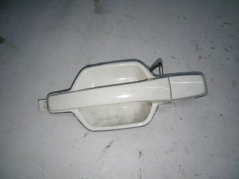 Ручка двери внешняя Mitsubishi Pajero V93W 6G72 2006 (б/у)