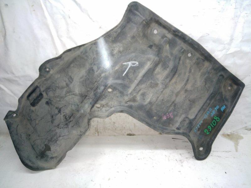 Защита двигателя Toyota Corolla AE90 передняя правая (б/у)