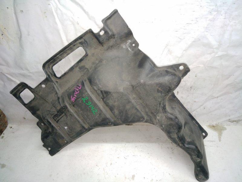 Защита двигателя Toyota Prius NHW10 передняя левая (б/у)