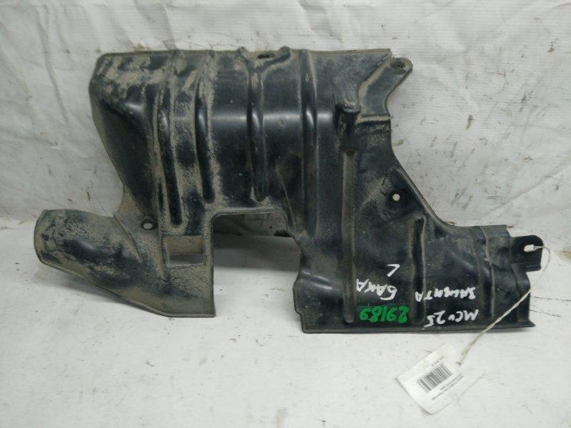 Защита топливного бака Toyota Kluger V ACU20 левая (б/у)