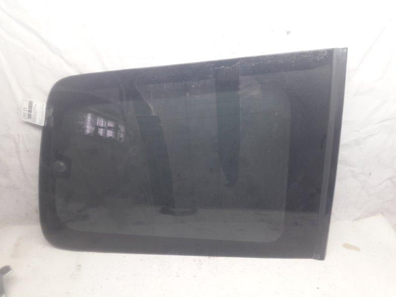 Стекло багажника Mitsubishi Pajero V93W 6G72 2006 заднее правое (б/у)