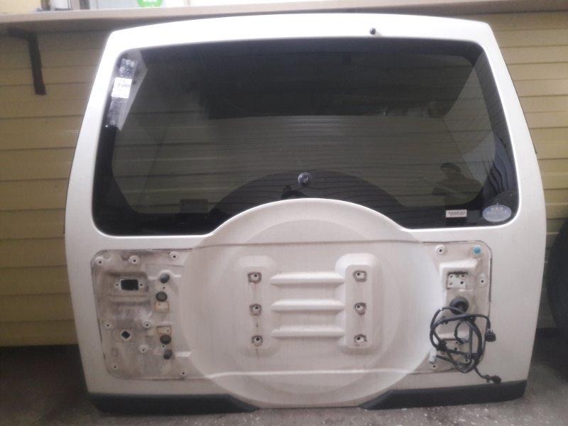 Дверь задняя Mitsubishi Pajero V93W 6G72 2006 (б/у)