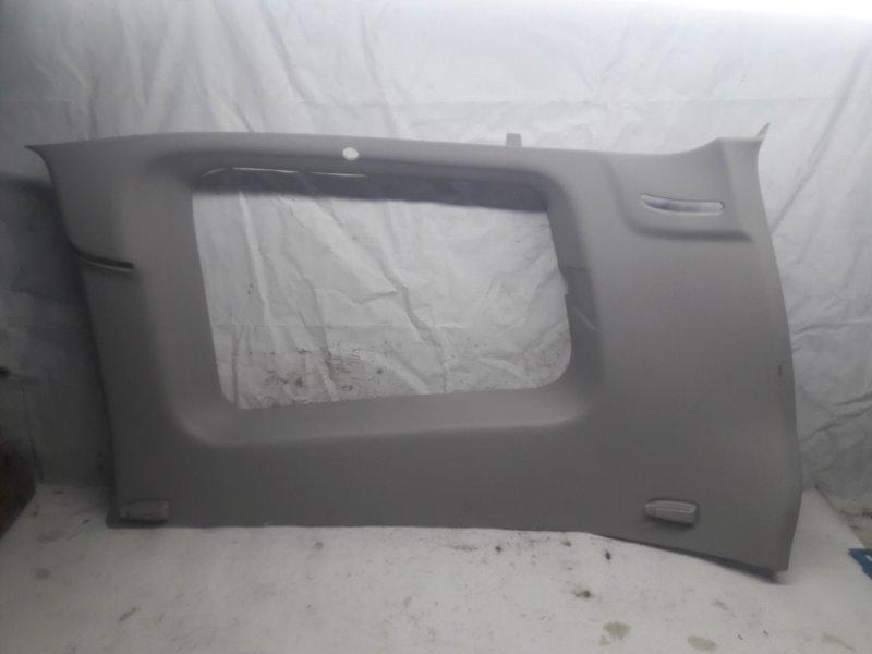 Обшивка багажника Mitsubishi Pajero V93W 6G72 2006 задняя правая верхняя (б/у)