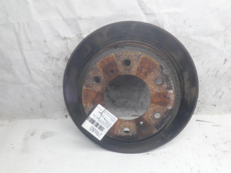 Тормозной диск Mitsubishi Pajero V93W 6G72 2006 задний (б/у)