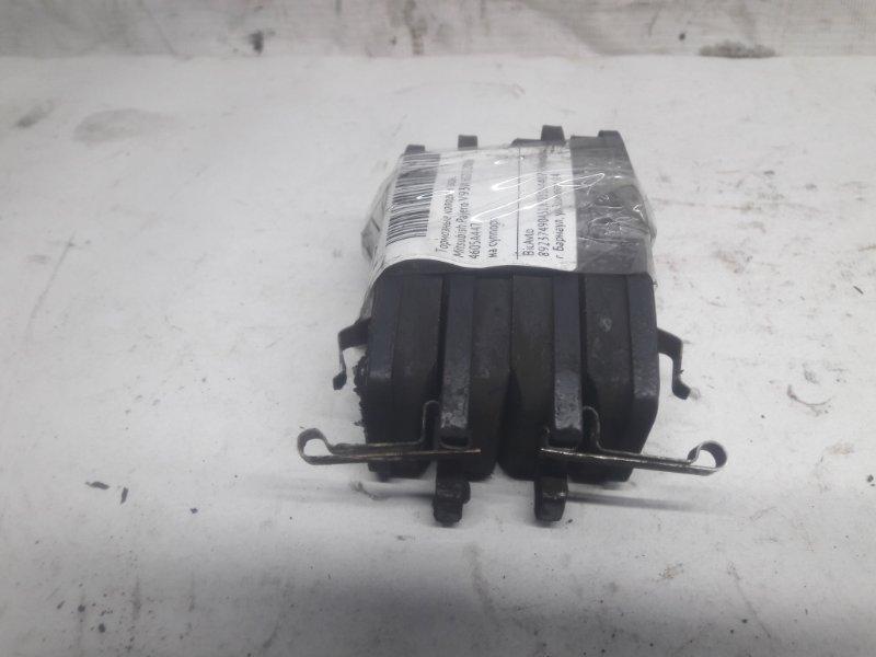 Тормозные колодки Mitsubishi Pajero V93W 6G72 2006 заднее (б/у)