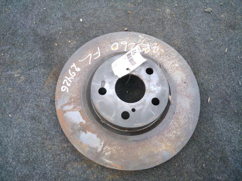 Тормозной диск Toyota Allion ZRT260 передний (б/у)