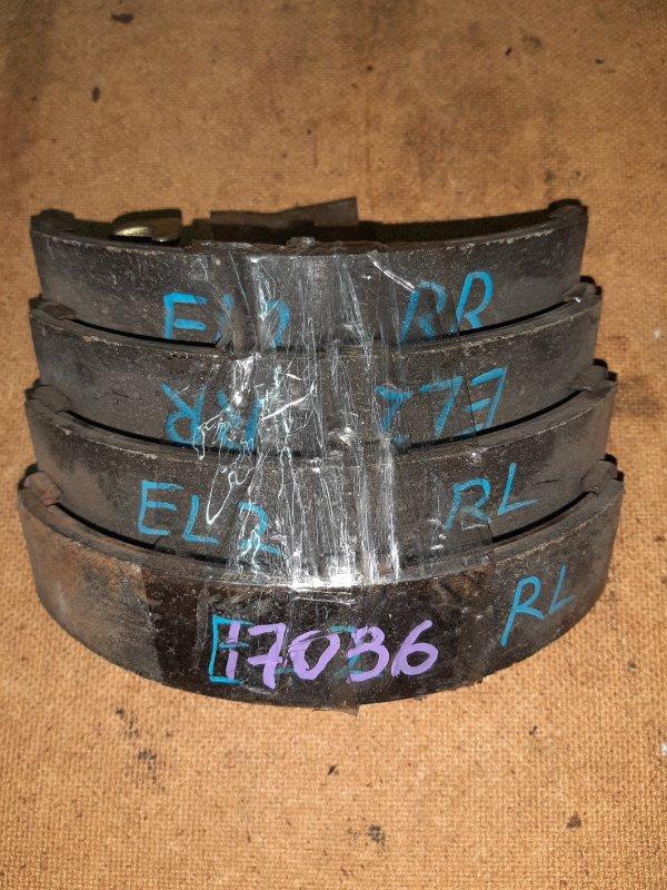 тормозные колодки задние Honda EL1 б/у барабан