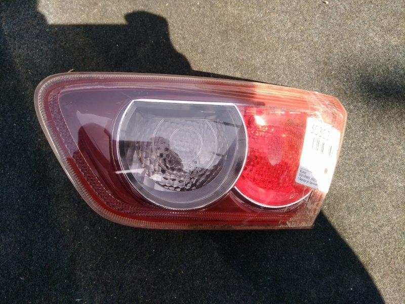Вставка багажника Mitsubishi Lancer X CY4A правая (б/у)