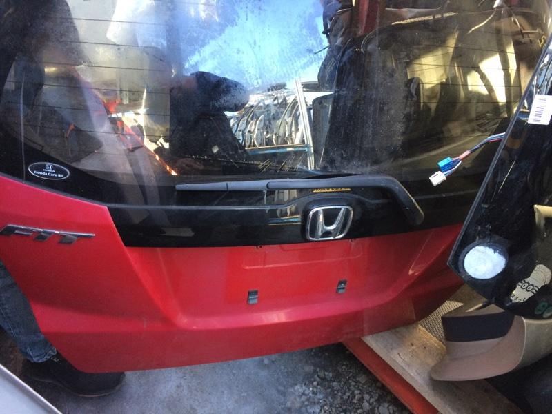 Накладка 5-й двери Honda Fit GE6 (б/у)