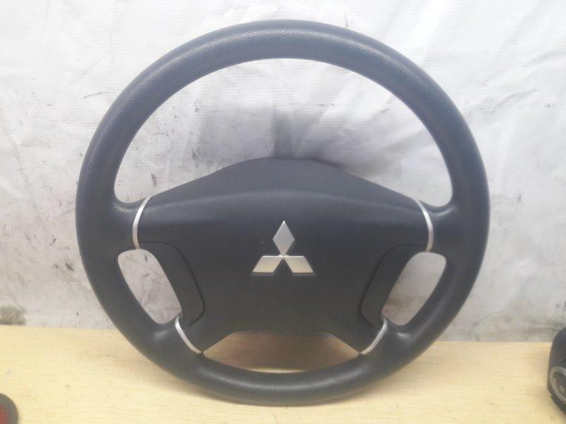 Руль с airbag Mitsubishi Pajero V93W 6G72 2006 (б/у)