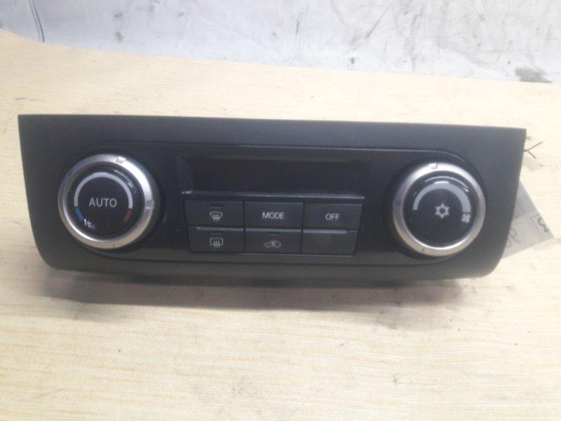 Блок управления климат-контролем Mitsubishi Pajero V93W 6G72 2006 (б/у)