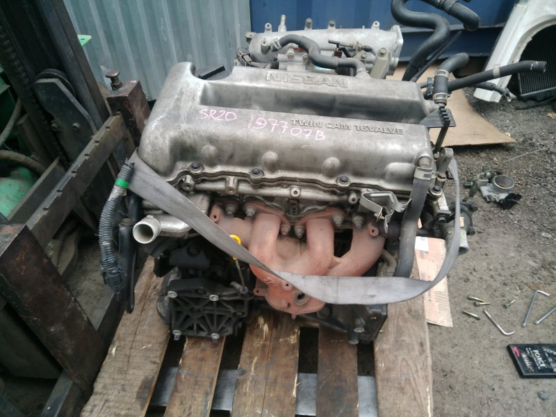 двигатель Nissan SR20DE 197707B б/у (0006387) N30