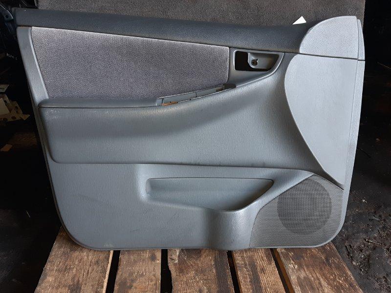Обшивка двери Toyota Corolla NZE120 2000 передняя левая (б/у)