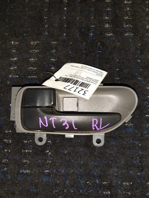 Ручка двери внутренняя Nissan X-Trail NT31 2007 задняя левая (б/у)