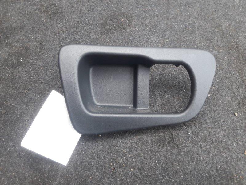Накладка ручки двери Nissan Qashqai J10 2007 задняя правая (б/у)