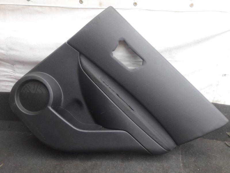 Обшивка двери Nissan Qashqai J10 2007 задняя правая (б/у)