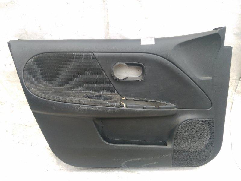 Обшивка двери Nissan Note E11 передняя левая (б/у)