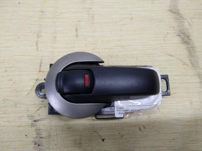 Ручка двери внутренняя Nissan Note E11 передняя левая (б/у)