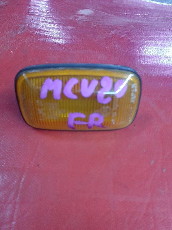 Повторитель в крыло Toyota Windom MCV20 передний правый (б/у)