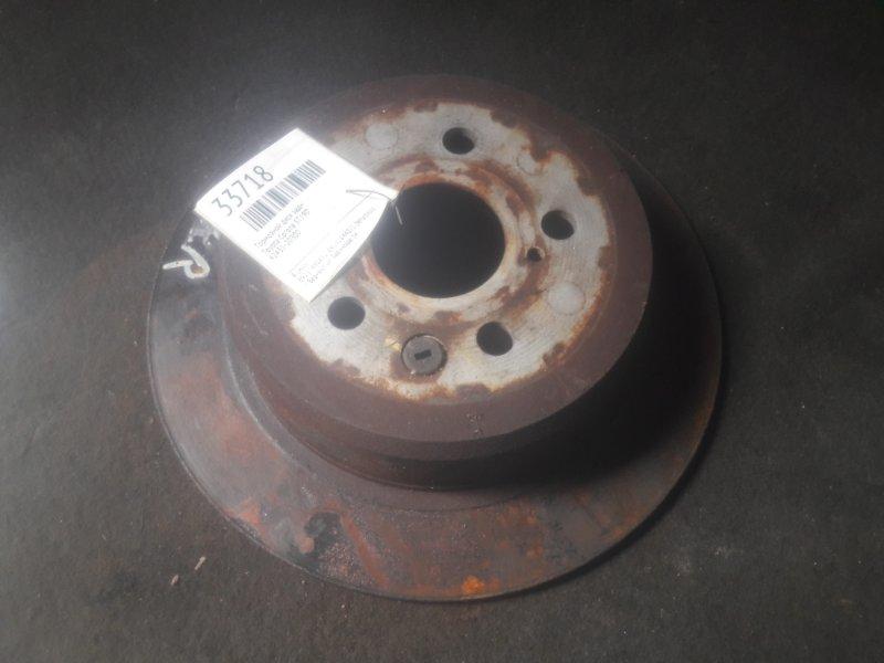 Тормозной диск Toyota Corona ST190 задний (б/у)