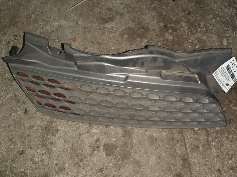 Решетка радиатора Nissan March K12 2001 правая (б/у)