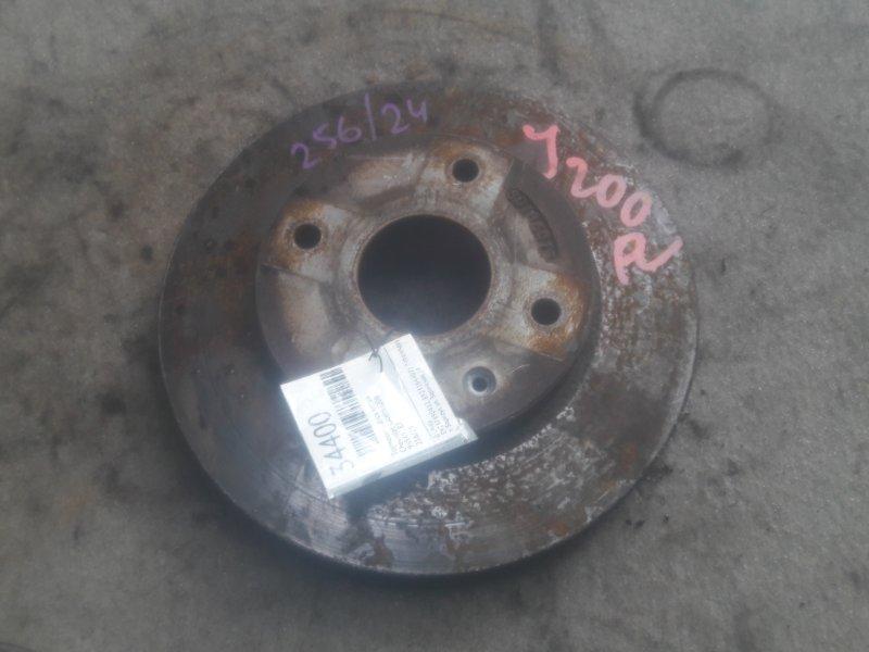 Тормозной диск Chevrolet Lacetti J200 передний (б/у)