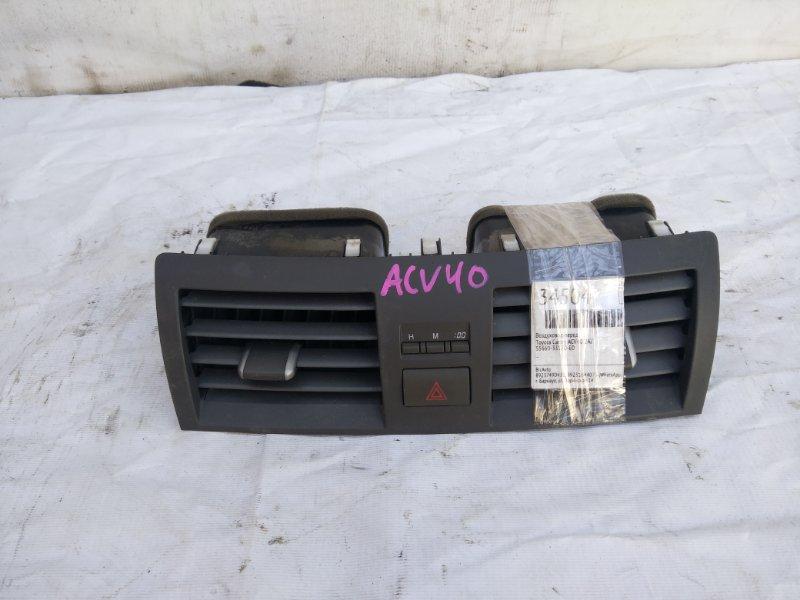 Воздуховод Toyota Camry ACV40 2AZ передний (б/у)