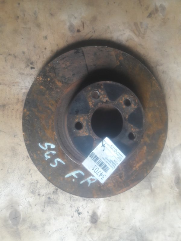 Тормозной диск Subaru Impreza GG3 передний (б/у)