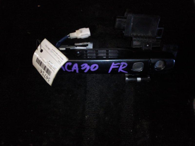 Ручка двери внешняя Toyota Rav4 ACA30 передняя правая (б/у)