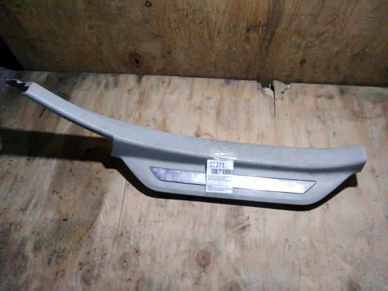 Накладка на порог внутренняя Toyota Camry ACV40 2AZ задняя правая (б/у)