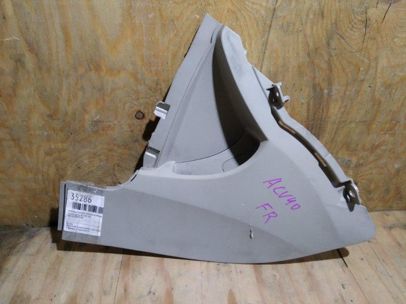 Накладка боковая на консоль между сидений Toyota Camry ACV40 2AZ правая (б/у)