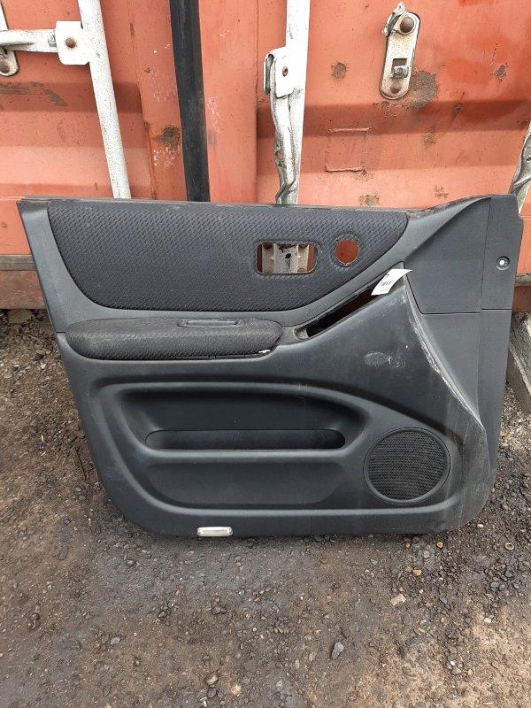 Обшивка двери Toyota Kluger MCU25 передняя левая (б/у)
