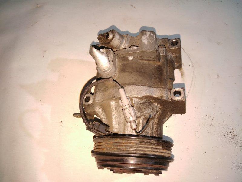 Компрессор кондиционера Toyota Vitz SCP10 1SZ (б/у)